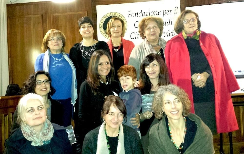 Le autrici con Ornella Cioni, Anna Maria Crispino, Ambra Laurenzi e Loretta Fuccello