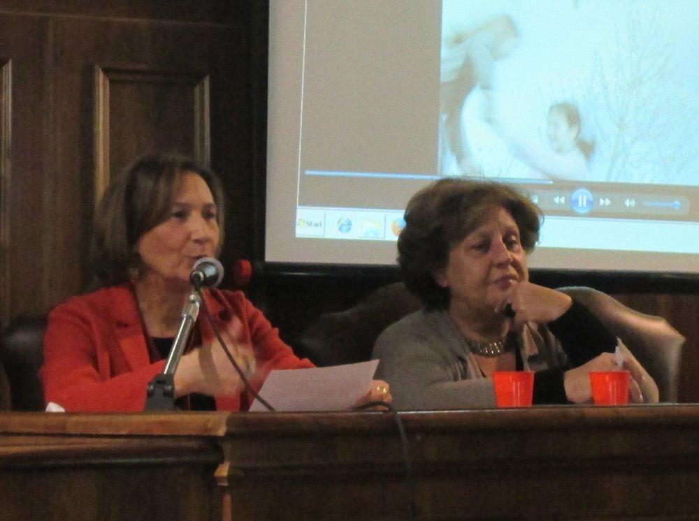 Ornella Cioni e Anna Maria Crispino