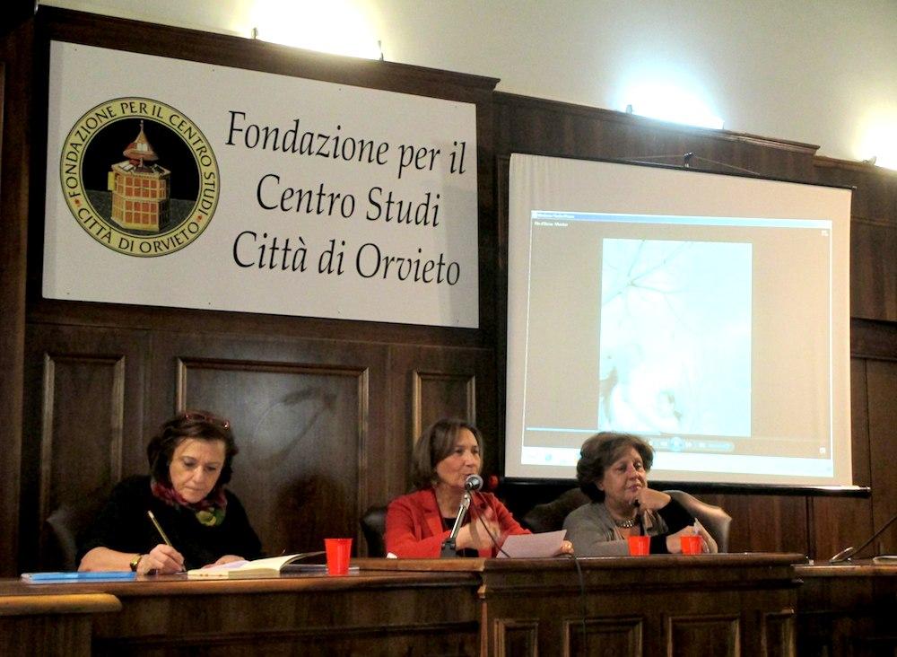 Le relatrici Ornella Cioni, Ambra Laurenzi e Anna Maria Crispino